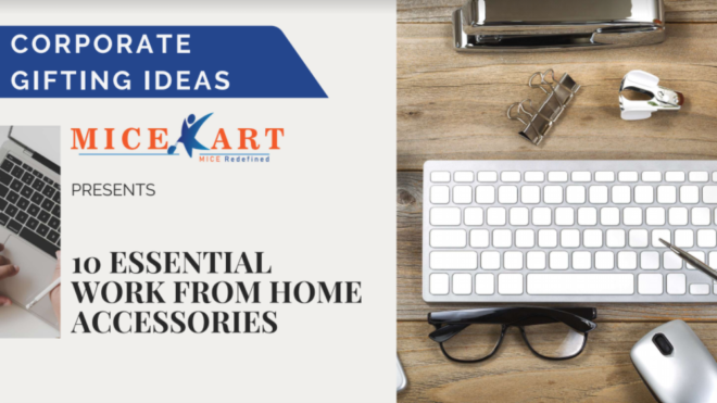 10 essential Work from home accessories