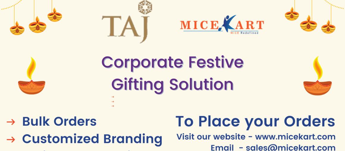 Diwali Corporate Gifting Taj