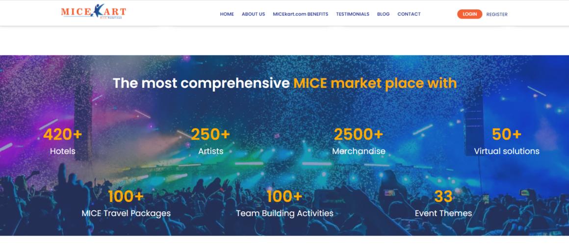 If it's M.I.C.E Travel, then we've got all it at MICEkart.com